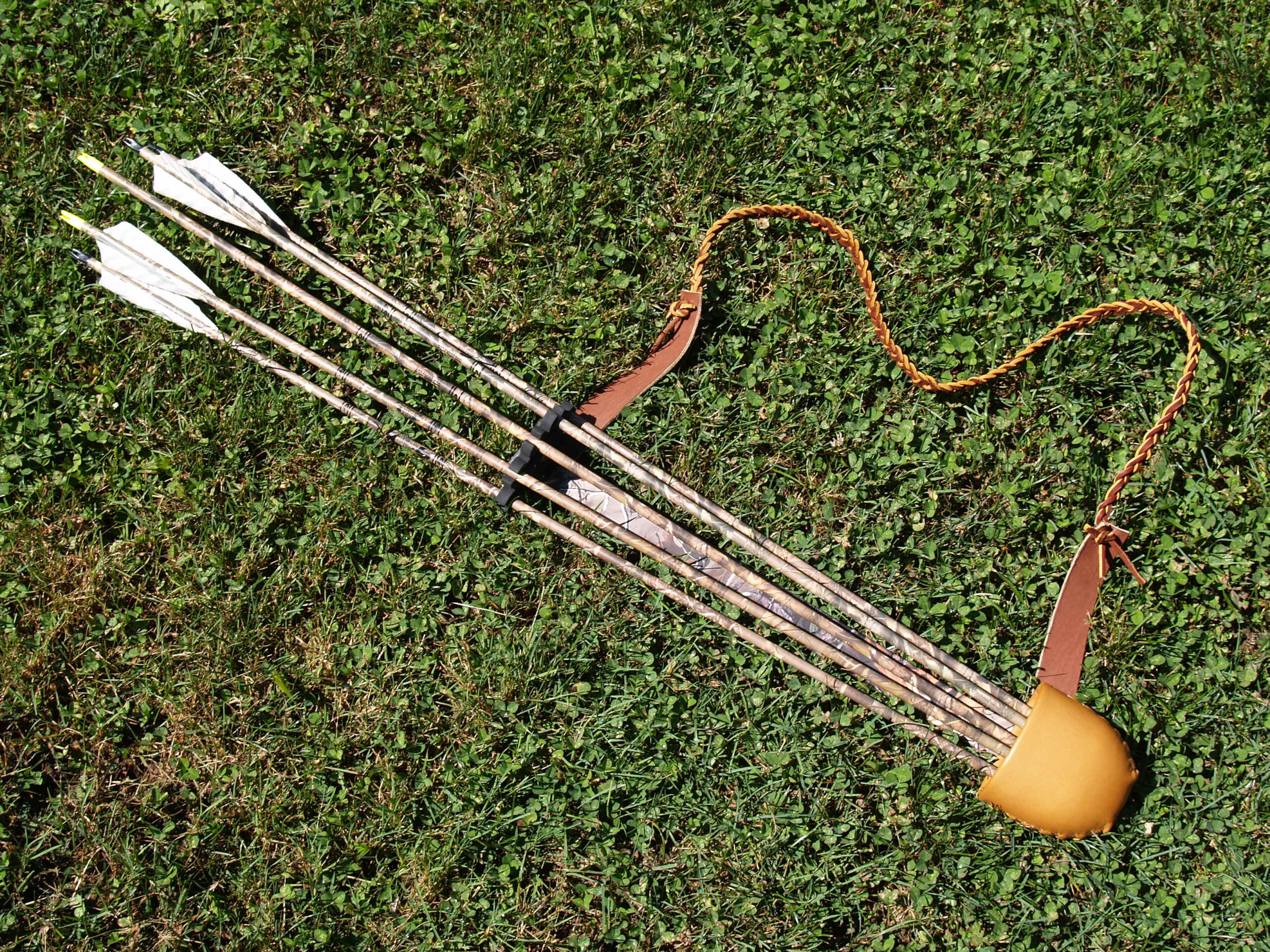 bow quiver modified to side quiver