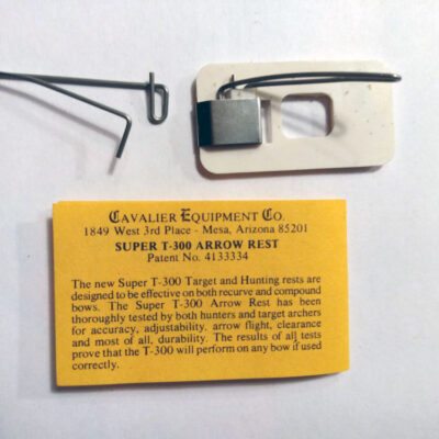 Cavalier Equipment Co Super T-300 Arrow Rest